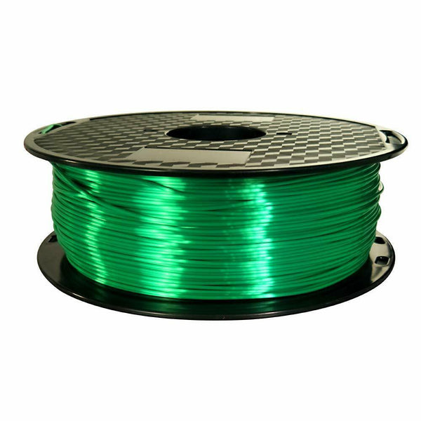 PLA Silk Green Filament 1.75mm 3D Printer Filament 2.2 LBS Spool 3D Printing