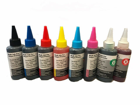 8x100ml Refill ink for Canon CLI-8 PIXMA Pro 9000 Mark ii Cartridge CISS