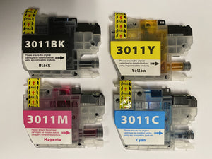 Brother LC3011 Ink Cartridges