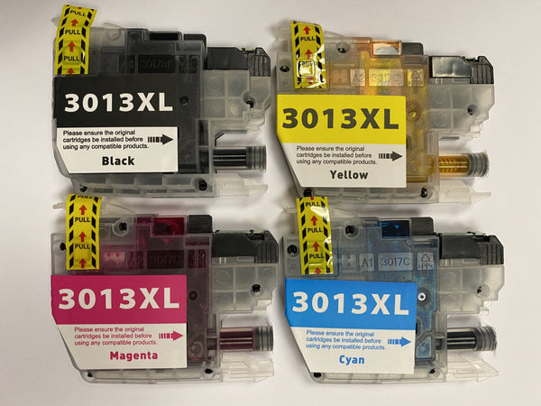 Brother LC3013 Ink Cartridges