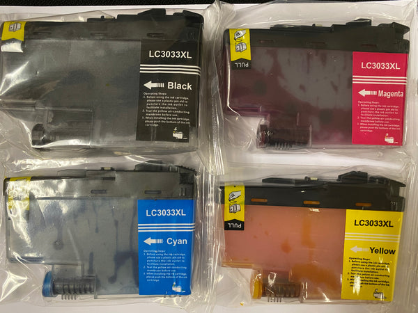 Brother LC3033 Ink Cartridges