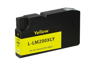 Compatible Cartridge for Lexmark 200 200XL Yellow Ink Pro 4000 5500 5500t