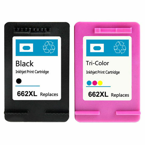 Compatible For HP 662XL Black & Color Ink Cartridges Deskjet 1015 1515 2515 2545