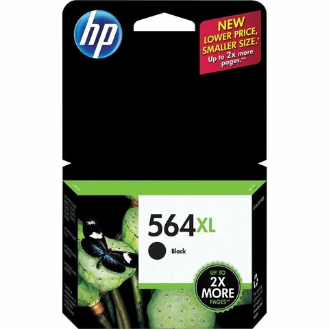 HP 564XL Black Genuine Ink Cartridge PhotoSmart C6375 C6388