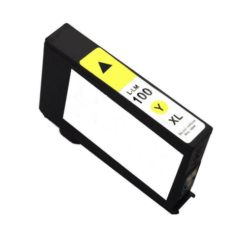Lexmark 100XL Yellow Compatible Ink Cartridges for PRO703 PRO705 PRO706 PRO803