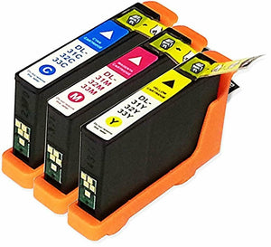 4 PACK 31 32 33 34 Ink Cartridges Replacement For Dell 31 32 33 34 (With Chip)