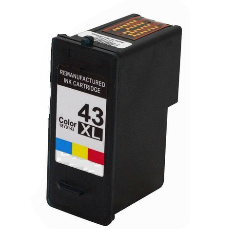 Compatible 43XL Color Ink Cartridge For Lexmark Z1520 X4975 X9350 P250 P350