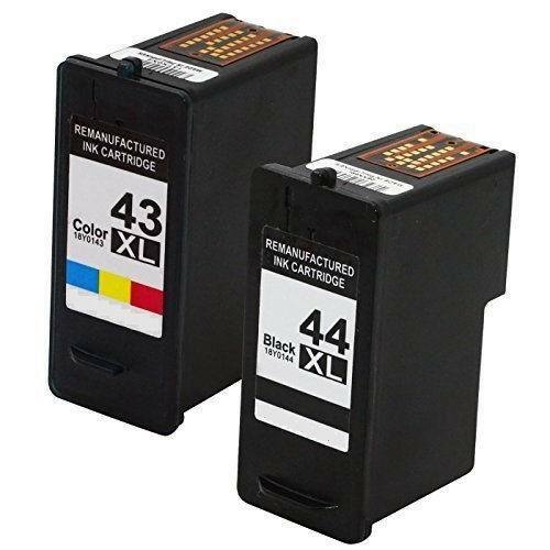 Remanufactured Ink Cartridge Replacement For Lexmark 43XL & 44XL 18Y0143 18Y0144