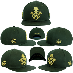 GEARHEAD x HYPEBEAT 'CULTURE WARS' MILITARY GREEN SNAPBACK