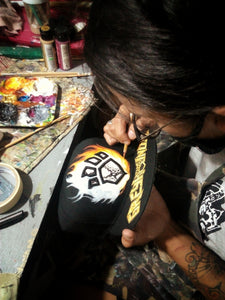 WIPHEADS EP. 04 - Hand-painted WIP caps by CJ Trinidad (Shoes Ginoo)