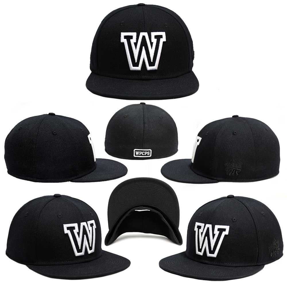 The 'W Black Fitted