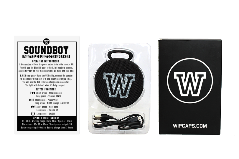 The WIP Soundboy Bluetooth speaker