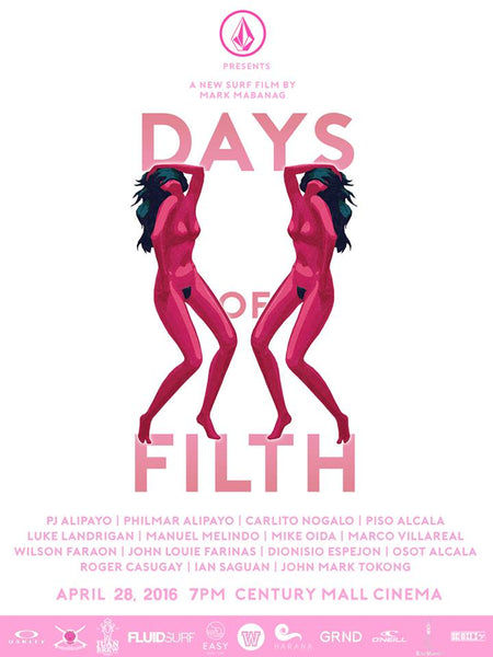 Days of Filth film poster