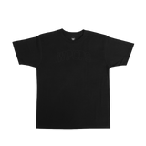 WPCPS Black Stitch Tee
