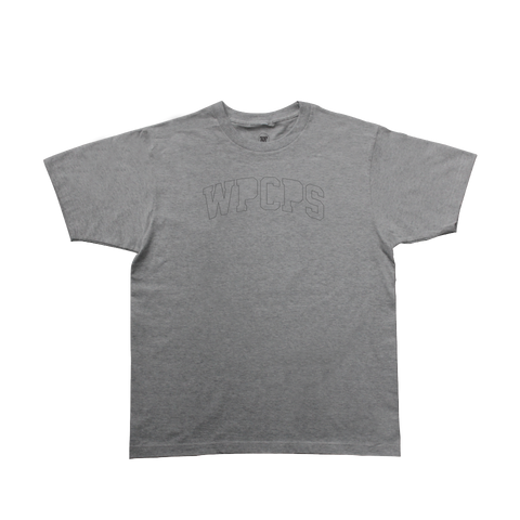 WPCPS Heather Grey Stitch Tee