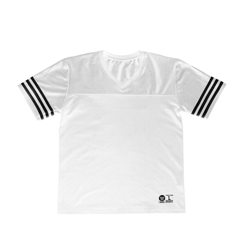 GOAT White Football Jersey