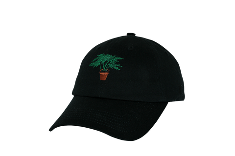 POT DAD CAP #BLK