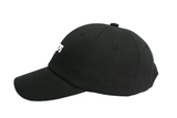 'WPCPS' dad cap (Black Cotton)