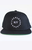 Live Love Laugh (Snapback Black) - Roberto Vincenzo