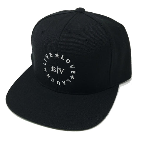 Black and Silver Flag (Black Snapback)