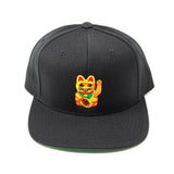 Lucky Money Cat Snapback