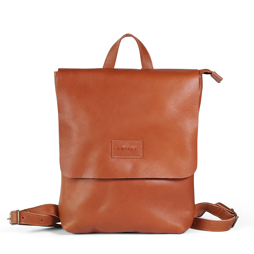 Combo Deal ** Antelo Henry Leather Backpack with matching Hayley wallet - click for colour options - Macaroon Collection