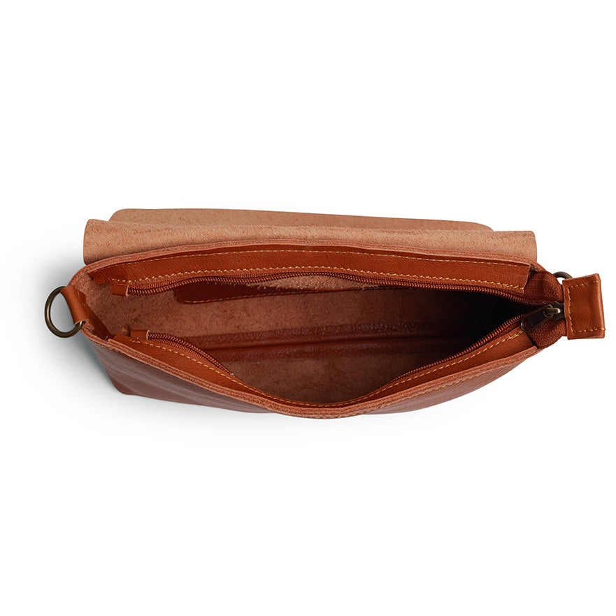 Antelo Jeanie XL Leather Handbag / Sling - Cider - Macaroon Collection