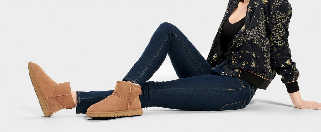 UGG Boot - Classic Mini II - Chestnut - Macaroon Collection
