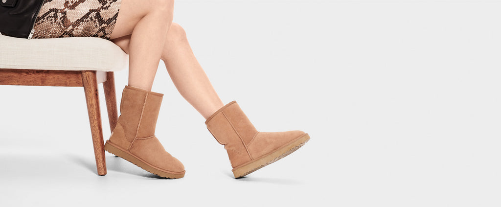 UGG Boot - Classic Short II - Chestnut - Macaroon Collection