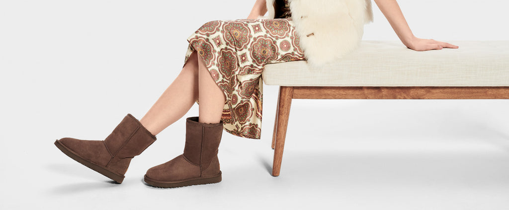 UGG Boot - Classic Short II - Chocolate (back order available Feb) - Macaroon Collection