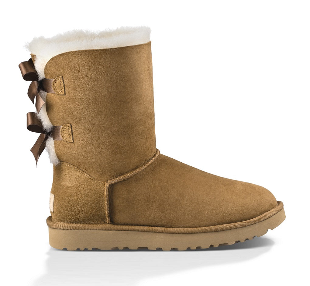 UGG Boot - Bailey Bow II - Chestnut - Macaroon Collection