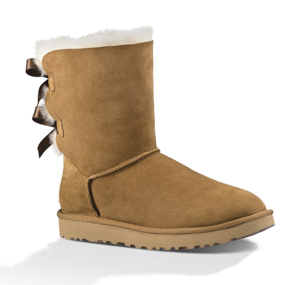 UGG Boot - Bailey Bow II - Chestnut