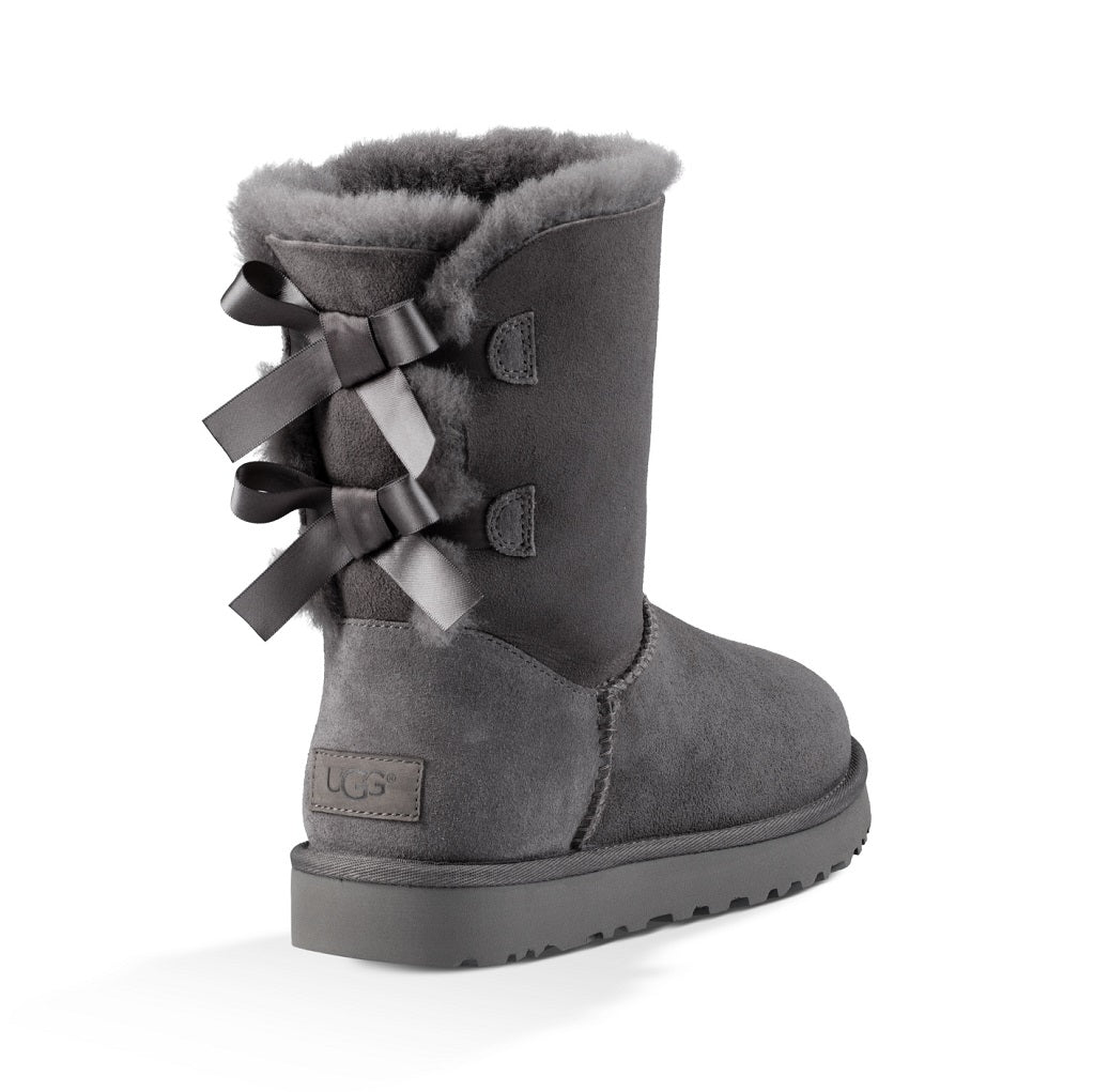 UGG Boot - Bailey Bow II - Grey - Macaroon Collection