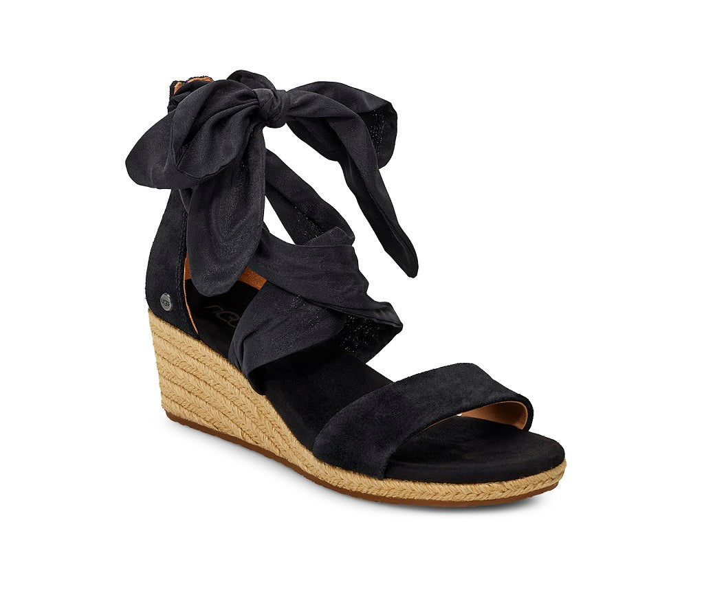 UGG Sandals - Trina Wedge - Black (back order available Feb)