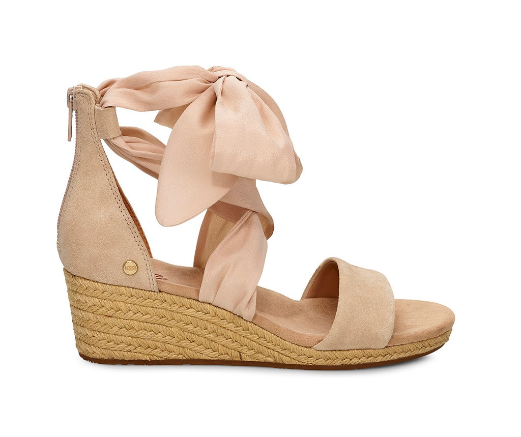 UGG Sandals - Trina Wedge - Nude - Macaroon Collection