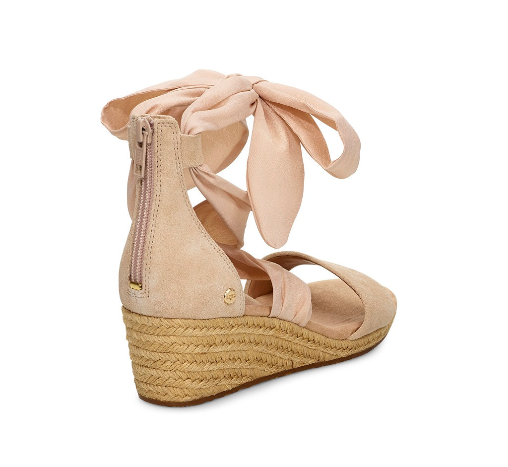 UGG Sandals - Trina Wedge - Nude