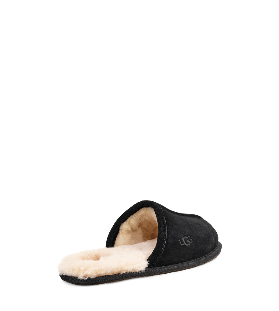 UGG Mens Slipper - Scuff - Black - Macaroon Collection
