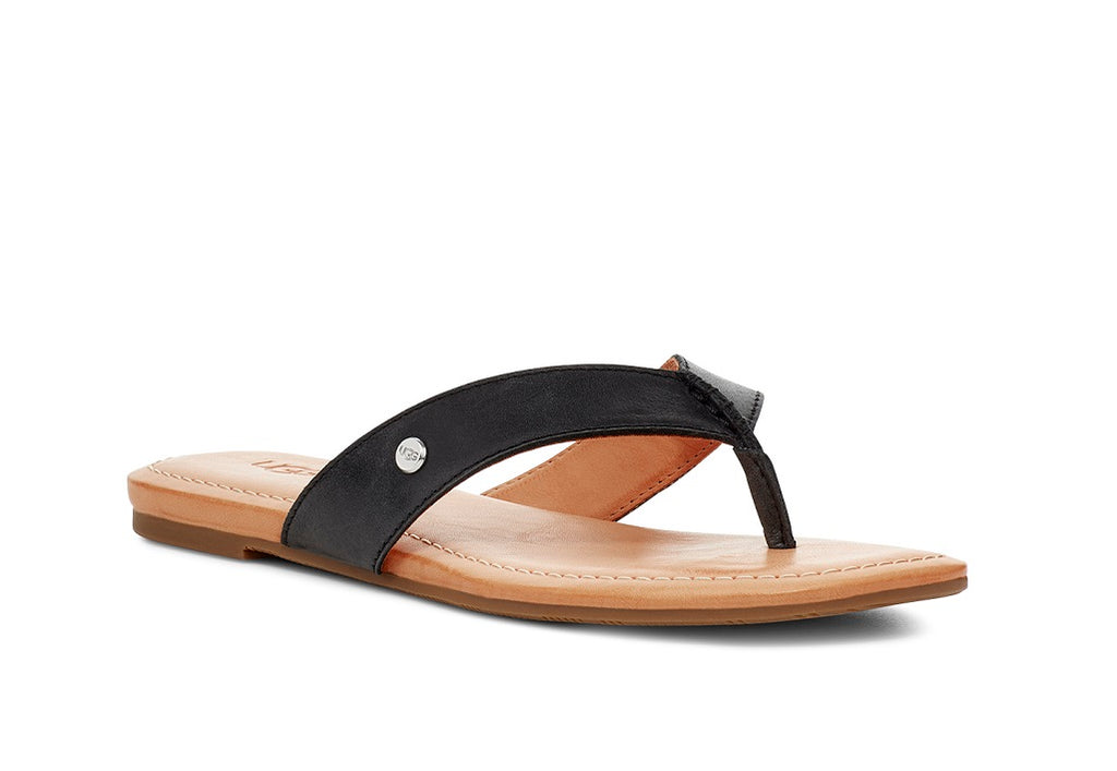 UGG Sandals - Toulumme - Black - Macaroon Collection