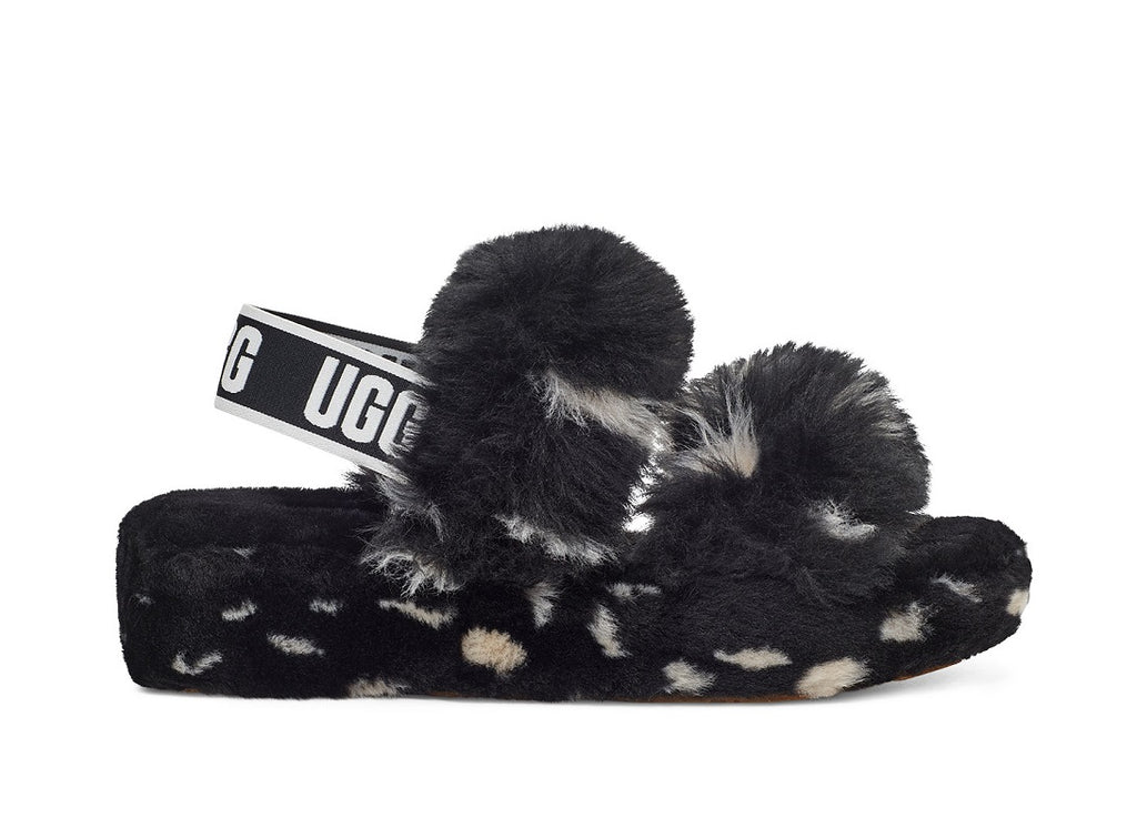 UGG Oh Yeah Slipper - Block Spot - Macaroon Collection