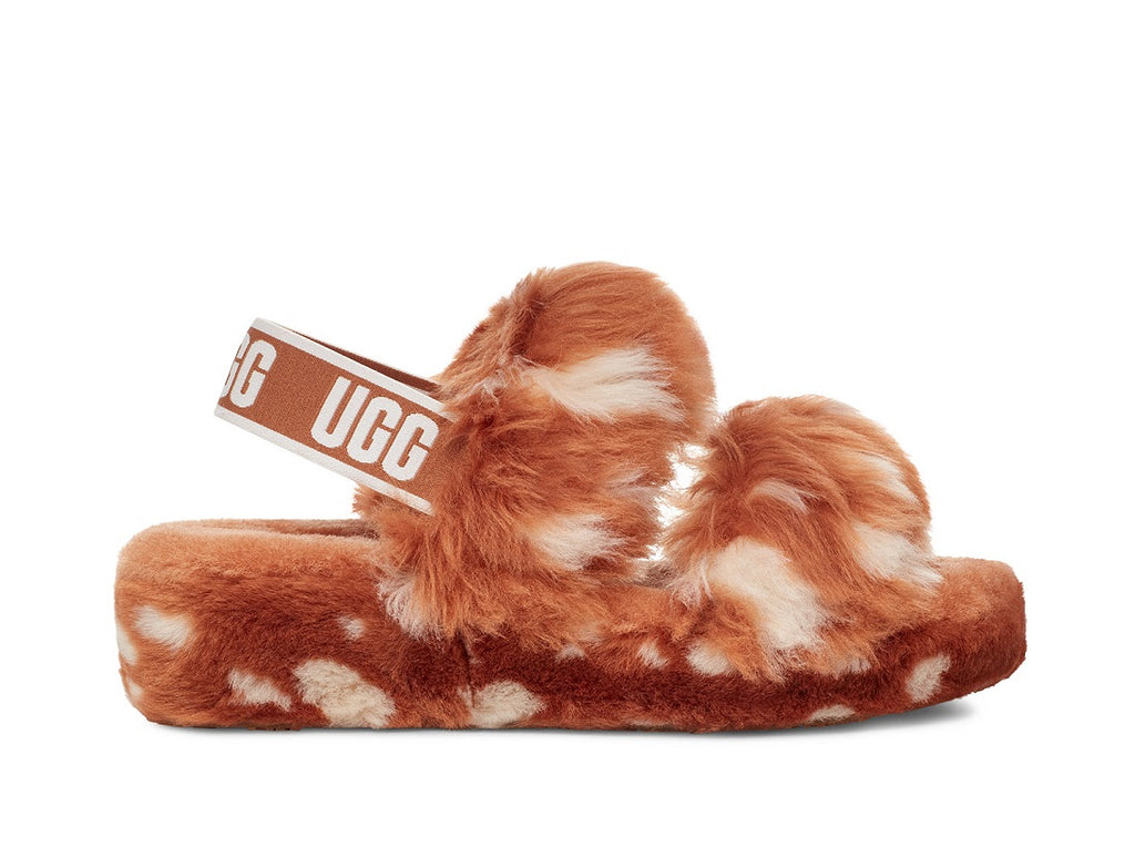 UGG Oh Yeah Slipper - Natural - Macaroon Collection