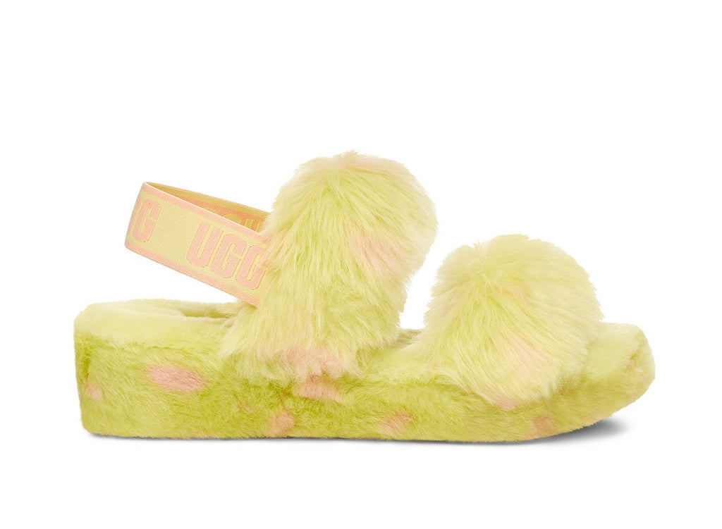 UGG Oh Yeah Slipper - Pollen - Macaroon Collection