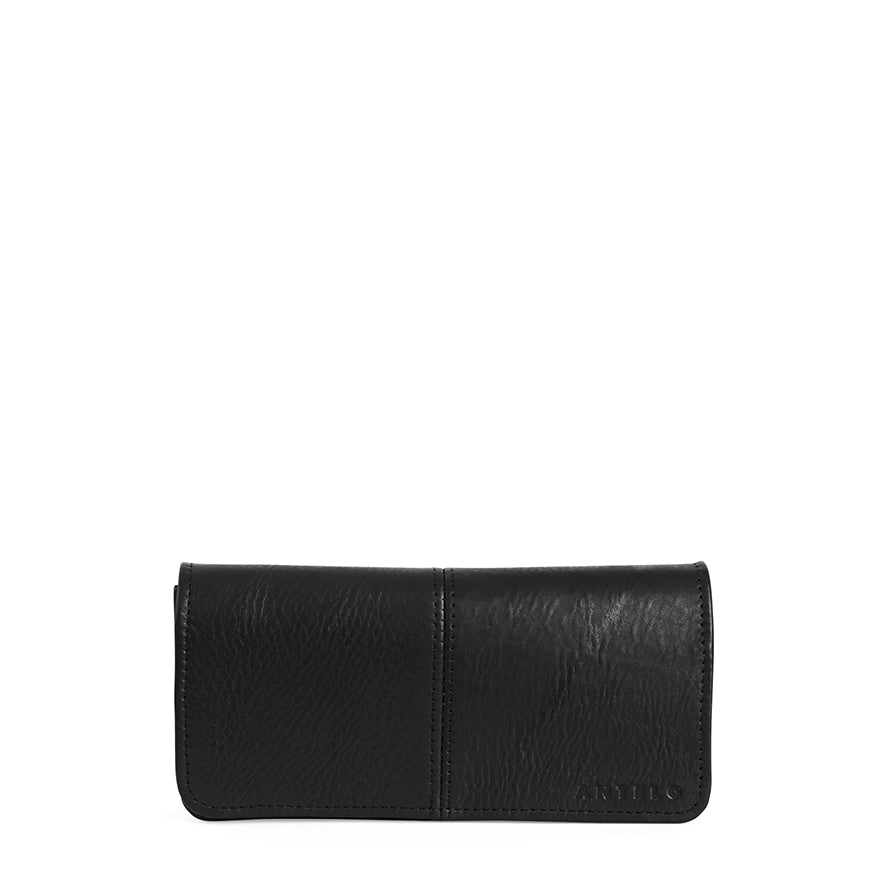 Antelo Gabby Leather Wallet - Black