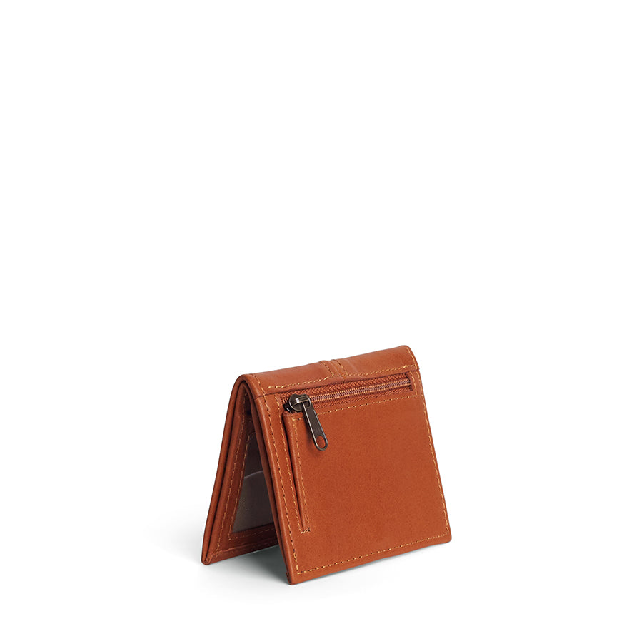 Antelo Slimline Leather Wallet - Cider - Macaroon Collection