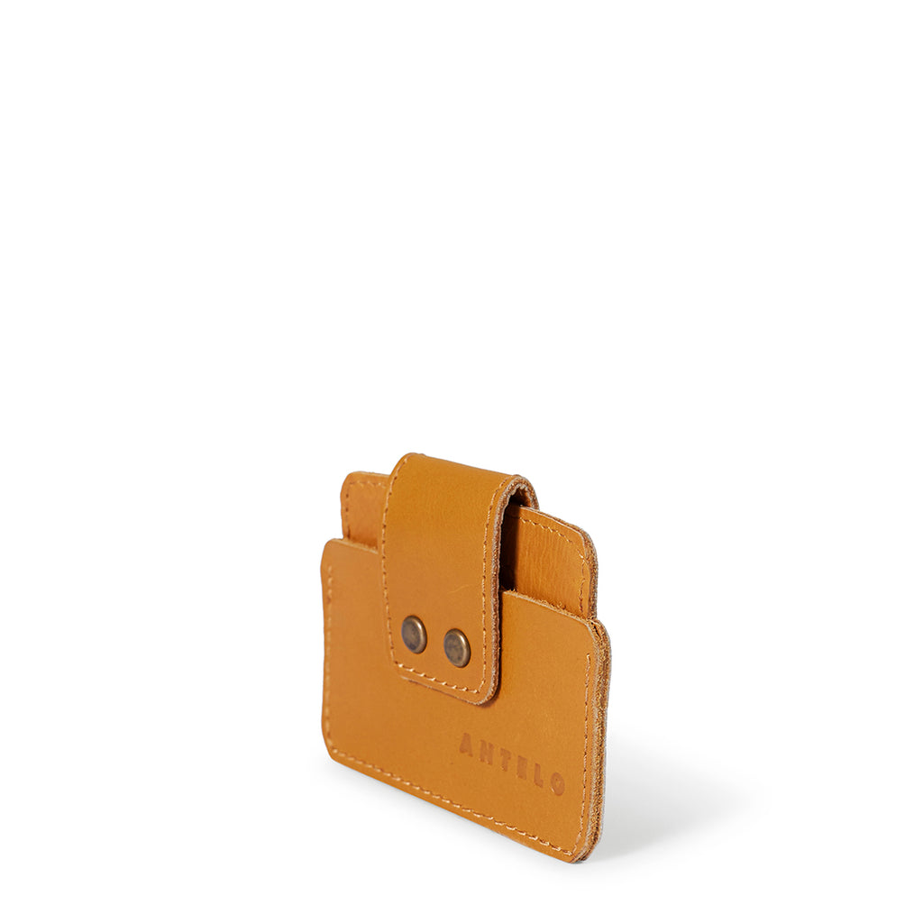 Antelo Cole Card Wallet - Mustard - Macaroon Collection