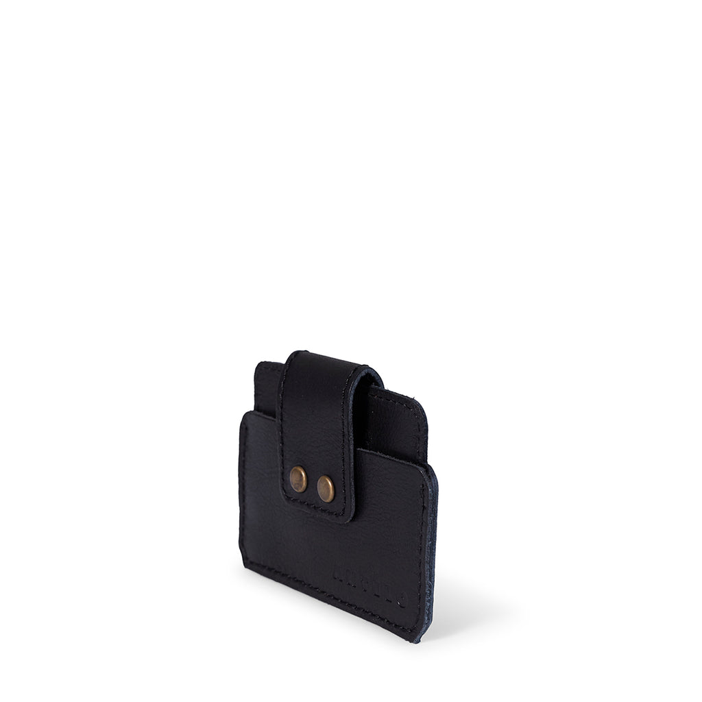 Antelo Cole Card Wallet - Black - Macaroon Collection