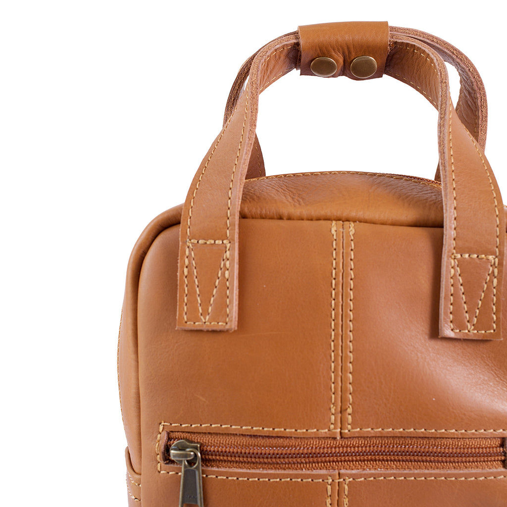 Antelo Hunter Leather Wine Carrier - Cider - Macaroon Collection