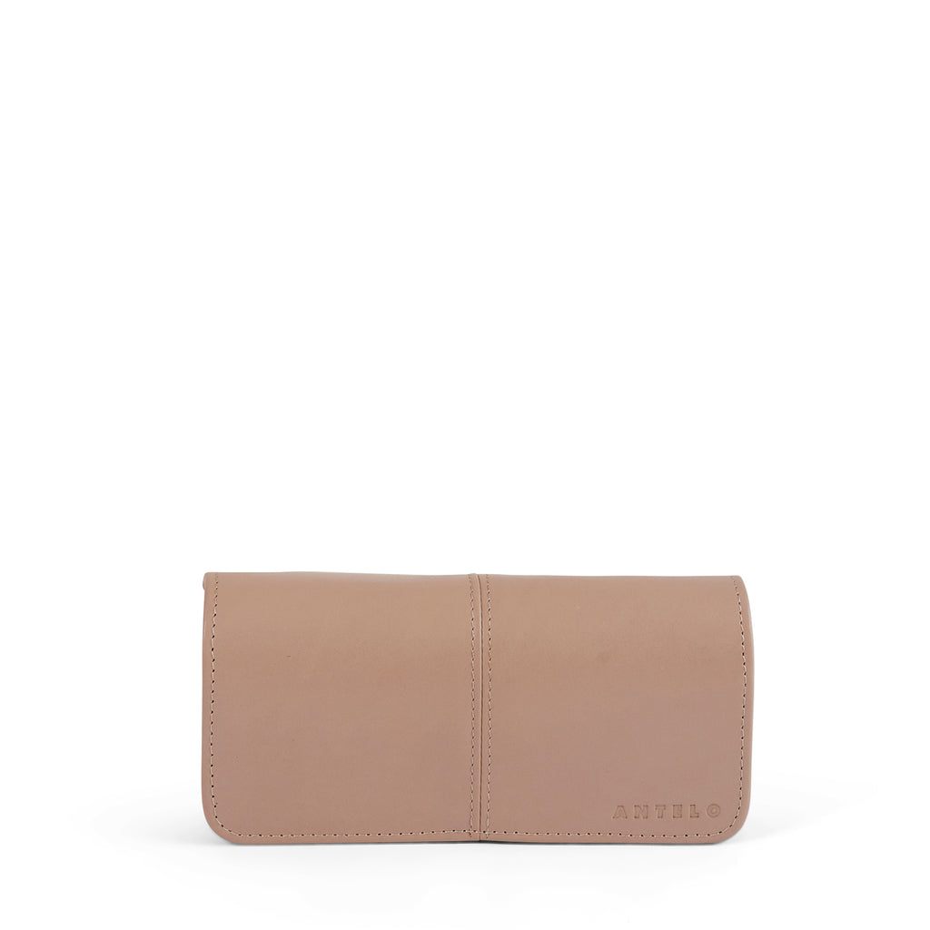 Antelo Gabby Leather Wallet - Sand - Macaroon Collection