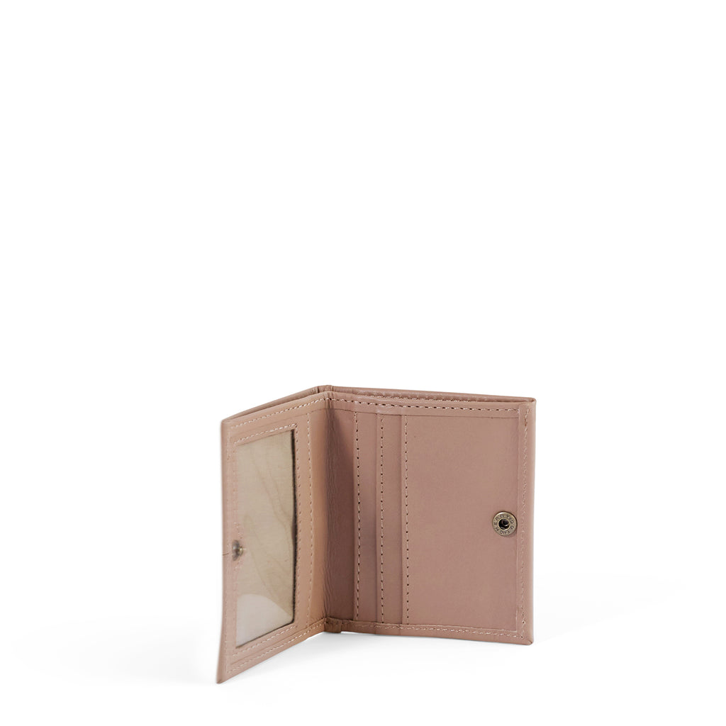 Antelo Slimline Leather Wallet - Sand - Macaroon Collection