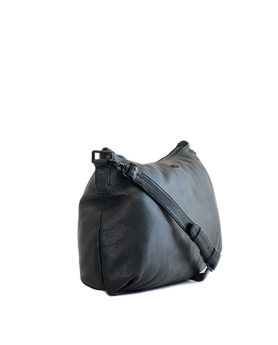 Zemp Audrey Handbag - Black - Macaroon Collection