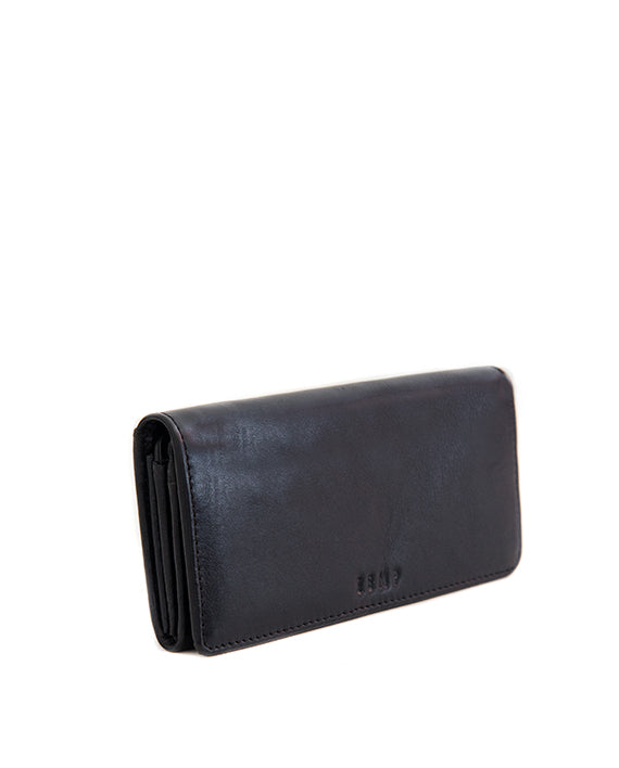 Zemp Claire Wallet - Black - Macaroon Collection